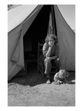 Eighteen Year-Old Mother Premium Giclee Print by Dorothea Lange