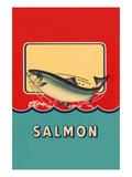 Salmon Prints