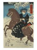 America Print by Ando Hiroshige