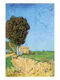 A Lane Near Arles Print by Vincent van Gogh