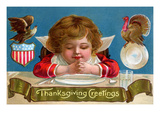 Thanksgiving Greetings Prints