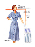 Slimness... in Rayon Poster by  Fashion Frocks