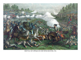 Battle of Winchester or Opequon Posters