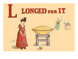 L - Longed for It Prints by Kate Greenaway