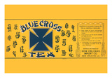 Blue Cross Tea Kunstdruck