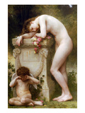 Elegy Poster by William Adolphe Bouguereau