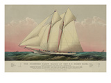 The Schooner Yacht Magic of the N.Y. Yacht Club Prints
