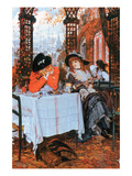Breakfast Prints by James Tissot