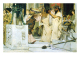 The Grape Harvest Festival, Detail [1] Prints by Sir Lawrence Alma-Tadema