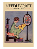 Pre-Teen Cross-Stitches a Fabric Prints by  Needlecraft Magazine