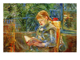 Little Girl Prints by Berthe Morisot