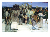 A Consecration of Bacchus, Detail [1] Posters by Sir Lawrence Alma-Tadema