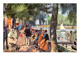 La Grenouillere Prints by Pierre-Auguste Renoir