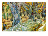 Roadman by Van Gogh Premium Giclee Print by Vincent van Gogh