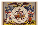 United States of America, Our Standard Coffee Premium Giclee Print by A. Holland