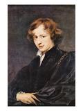 Self Portriat of Van Dyk Kunstdruck von Sir Anthony Van Dyck