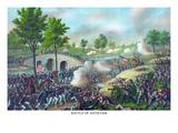 Battle of Sharpsburg - Antietam Creek Maryland Poster