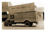 Giffel Manufacturing and Sales Company Delivery Truck Posters