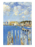 Port of Gloucester Island Posters by Childe Hassam