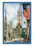 Phila. City Hall I Posters by Noel Miles