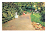 In the Park - a Byway Photo by William Merritt Chase