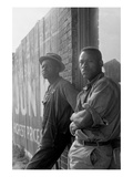 Hoping for Work Premium Giclee Print by Dorothea Lange
