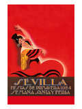 Sevilla - Saints Week Fair Posters by Sara Pierce