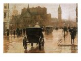 Columbus Avenue Posters by Childe Hassam