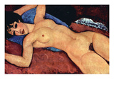 Recling Nude Poster von Amedeo Modigliani