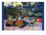 Nave Nave Moe Posters af Paul Gauguin