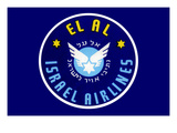 El Al Israel Airlines Art