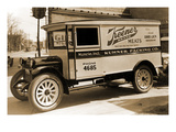 Keener Brand Meets, Kuhner Packing Co. Delivery Truck Prints
