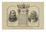 Democratic Platform and Presidential Nominees Prints by Cooper & Co, Siegel
