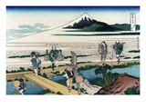 Nakahara in Sagami Province Print by Katsushika Hokusai