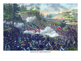 Battle of Chickamauga or Chickamauga Creek Posters