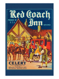 Red Coach Inn Celery Prints
