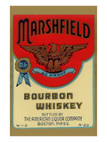 Marshfield Bourbon Whiskey Art
