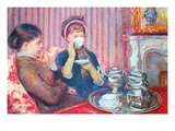 A Cup of Tea 2 Kunstdruck von Mary Cassatt
