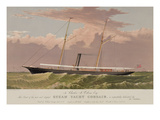 Steam Yacht Corsair Prints