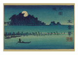 Fkeiga Affiche par Ando Hiroshige