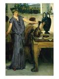 Pottery Painting Plakat af Sir Lawrence Alma-Tadema
