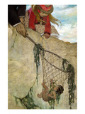 He Felt the Net Very Heavy Prints by Jesse Willcox Smith