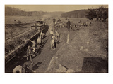 Civil War Train Thruway Excavation Prints