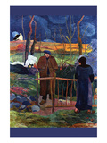 Good Day Mr. Gauguin Premium Giclee Print by Paul Gauguin