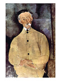 Portrait of Monsieur Lepoutre Posters by Amedeo Modigliani