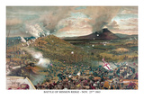Battle of Missionary Ridge Affischer