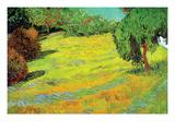 Sunny Lawn Prints by Vincent van Gogh