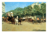 The Day of the Grand Prize [1] Premium Giclee Print by Childe Hassam