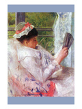 Reading Mrs. (Lydia Cassatt) by Cassatt Prints by Mary Cassatt