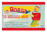 Mr. Robot: the Mechanical Brain Print
